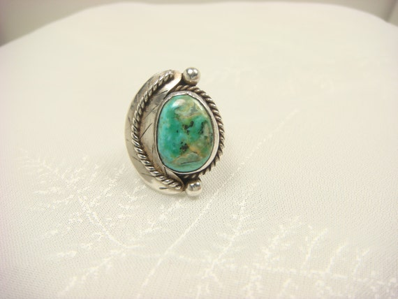 turquoise ring navajo ring turquoise jewelry