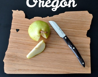 OREGON State Shaped Cutting Board