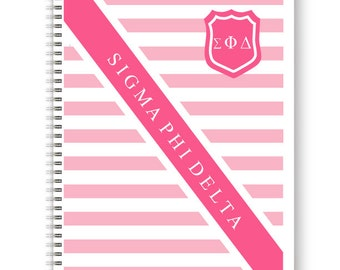 Notebooks for Sororities