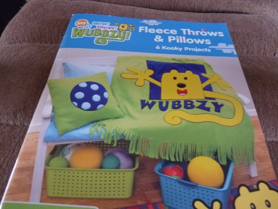 Wow wow wubbzy nick jr fleece throws and pillows by labarcdesigns