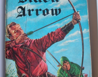 The Black Arrow, Robert Louis Stevenson, Scottie Books 1956