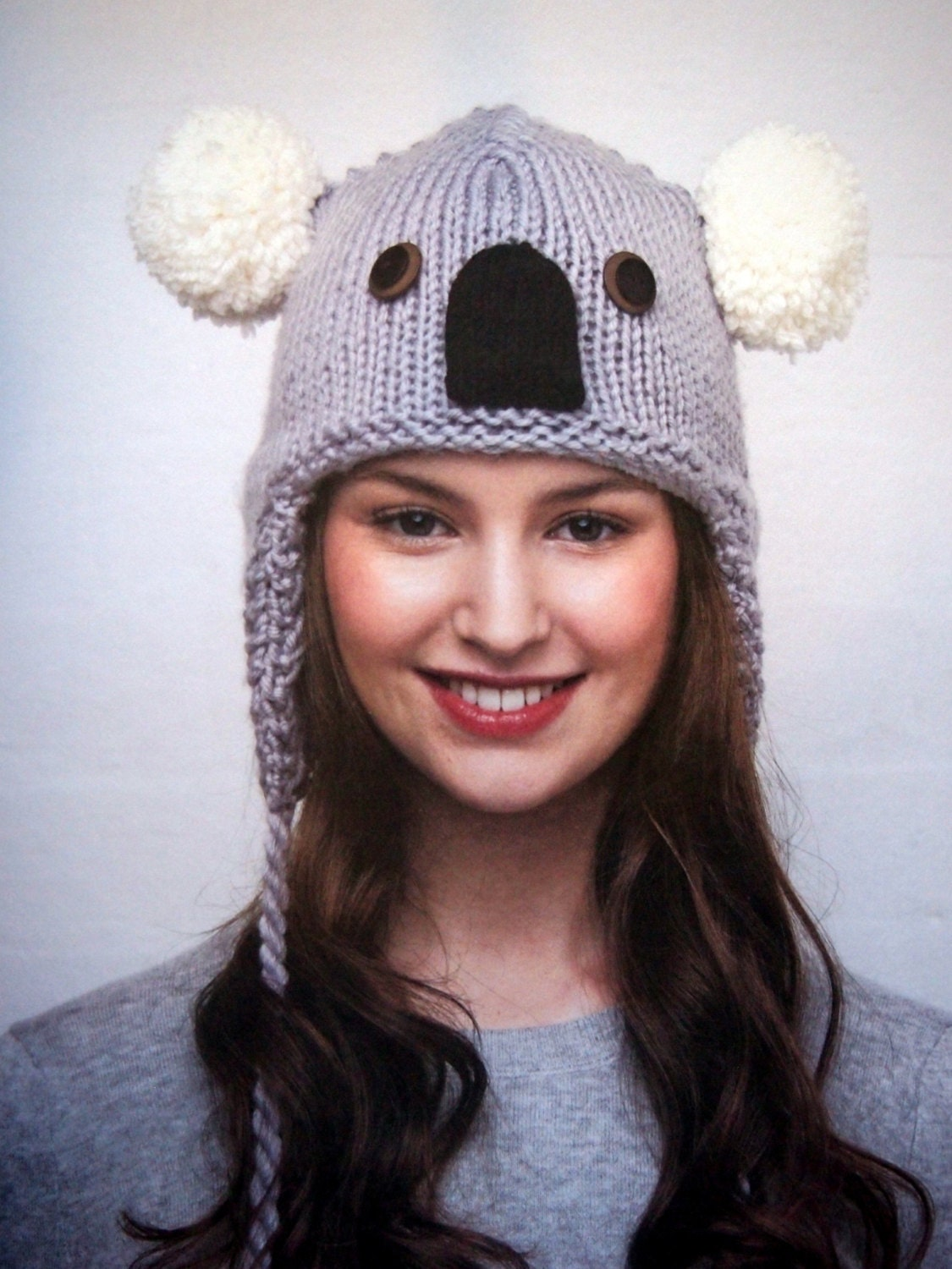 Knitting Patterns Hats Animals : Animal Hats 15 Patterns To Knit And Show Off By Vanessa