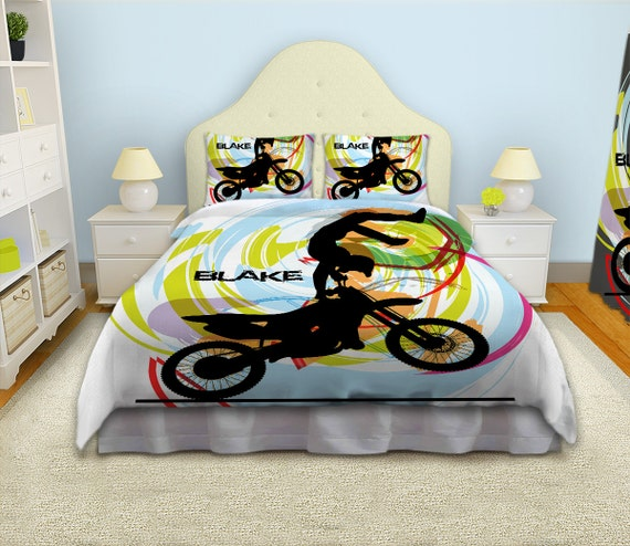 Kids Bedding Kids Rooms Motocross Duvet By Eloquentinnovations