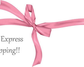 Express shipping. Upgraded Shipping. Estimated delivery within 2-3 business days.