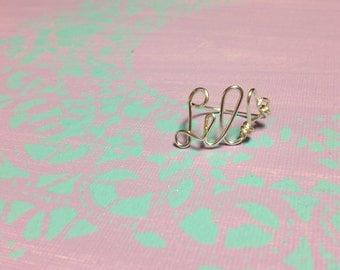 Silver Little Sorority Rings, Sorority Gift Rings, Gift for Little, Gift from Big, Silver Big Little Ring