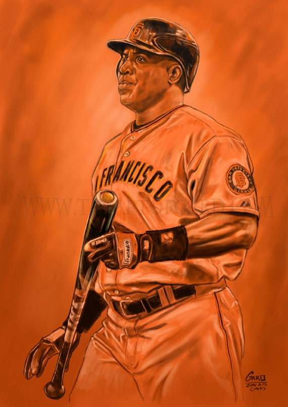 Barry Bonds - Artists Print