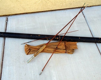 Popular items for bamboo fly rod on etsy for Vintage fishing rod identification