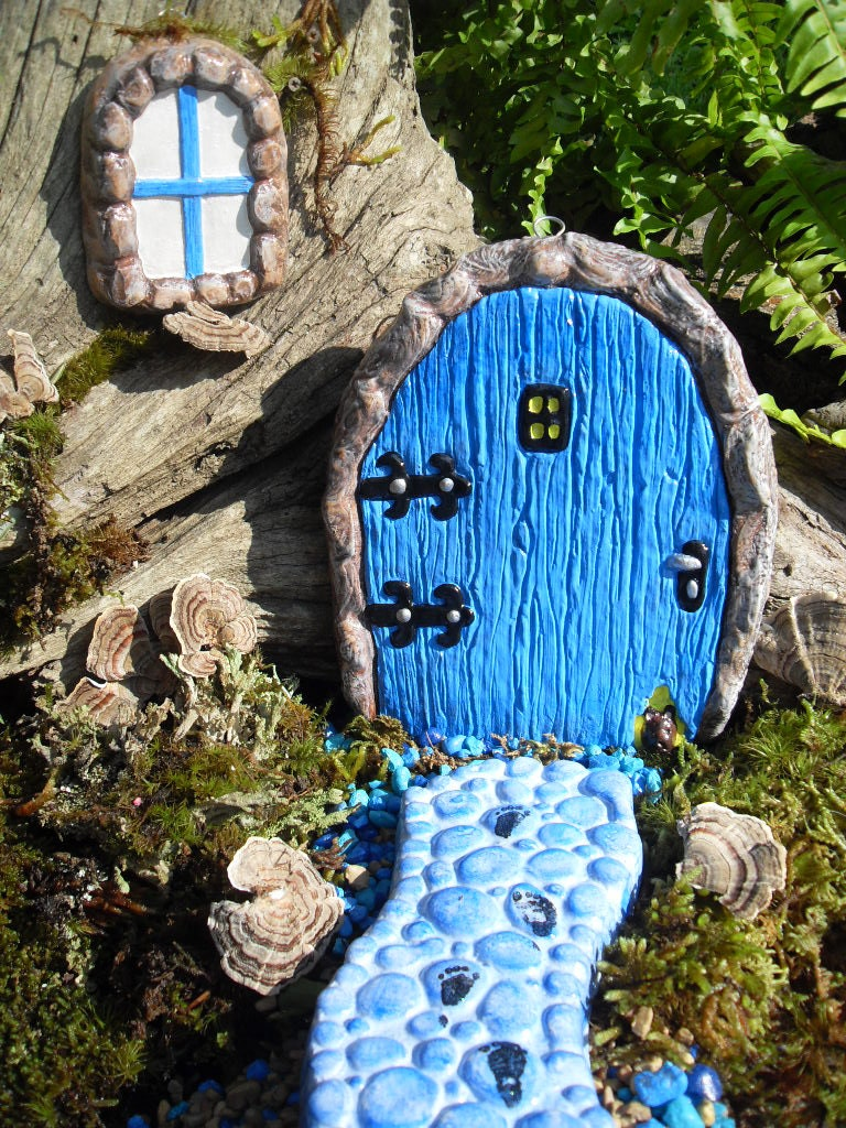 Fairy doormedium fairy door setfairy garden kitfairy for Outdoor fairy door
