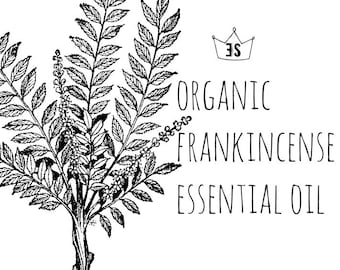 Organic Frankincense Essential Oil - Frankincense Oil - Pure Essential Oils - Organic Essential Oil