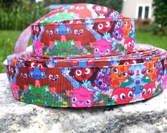 3 Yards Moshi Monster Printed Ribbon