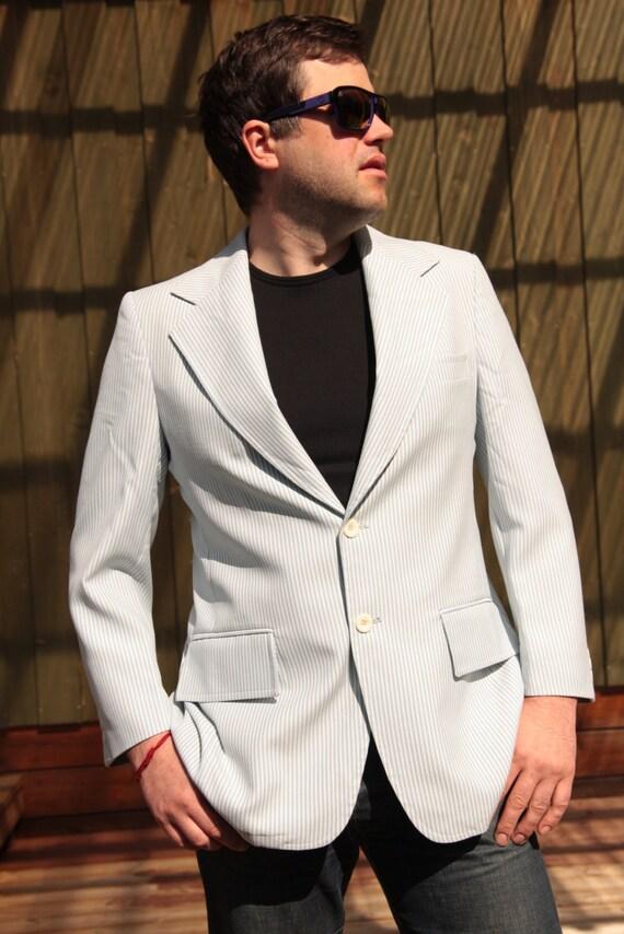 Blazer Coat Mens Mens Light Sport Coat White