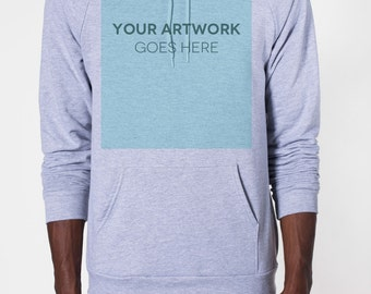 Custom Hoodie Sweatshirt Printing - No Minimum Order Quantity (8 Hoodie Colors)