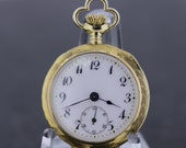 Mermod Jaccard & King CO 14K Gold Pocket Watch St.Louis 1910s-20s