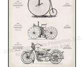 Cycle Design, 'Art of the Modern Cycle,' (Vs. 3), 18 x 24 Art Print