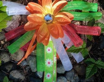 Hair Springs Spring Summer Cyberlox Crin Flowers Accessory Clip