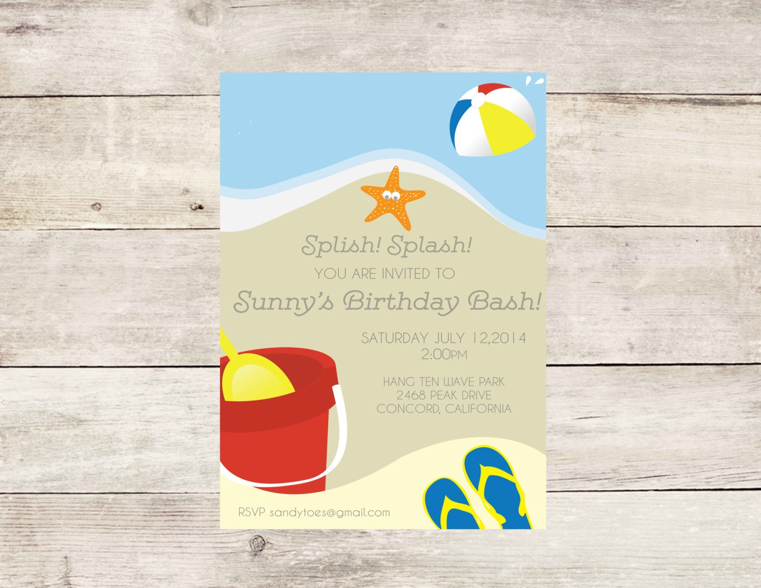 Gmail beach theme pictures -  Zoom