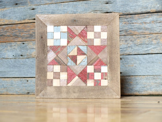 barn quilt block, salvaged wood barn quilt, barn quilt block