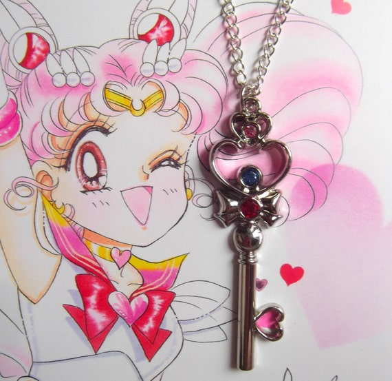 Sailor Chibi Moon Key Of Space Time Necklace