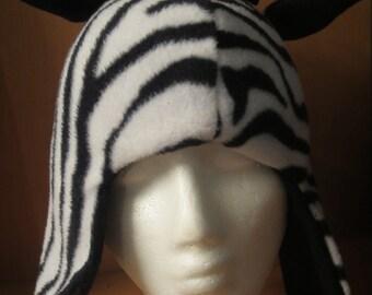 Funky Zebra Hat