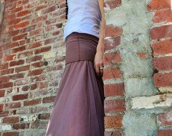 Freedom skirt/dress - organic cotton convertible dress - maxi dress/ skirt
