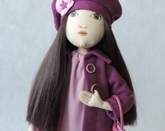 Victoria – cloth doll