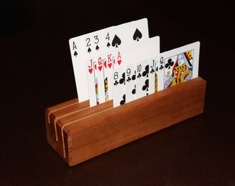 Wooden Playing Card Block - Single