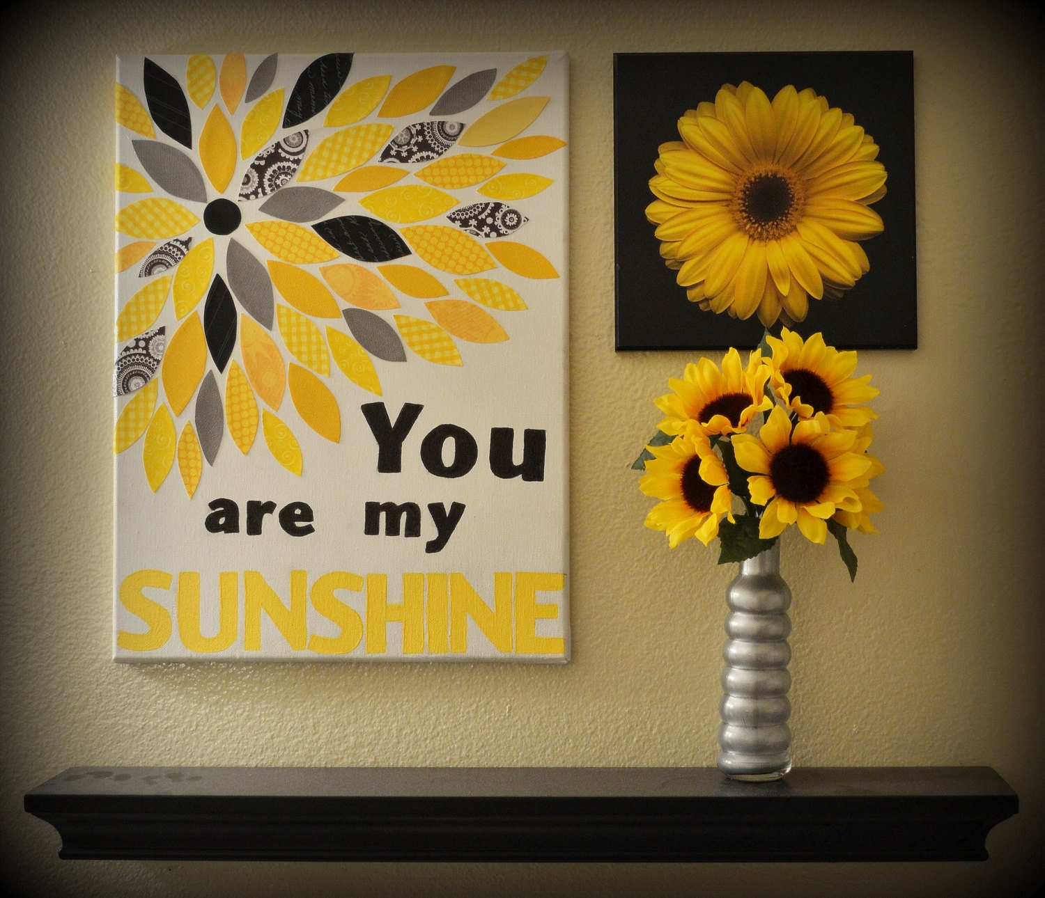 You are my sunshine canvas wall decor - Picture wall decor ...