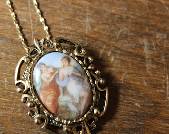 Vintage American Showcase Victorian Revival Necklace