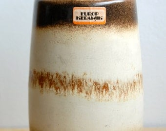 West German vase by Scheurich Keramik (242-22)- Fat Lava Vase 1960