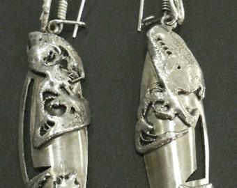 biomechanical earrings
