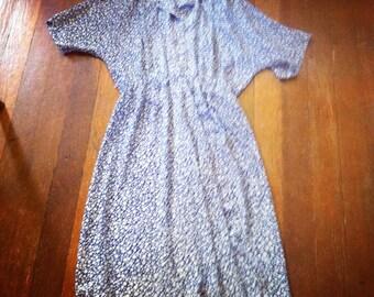 Big 80's Bubble Dress