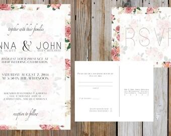 CUSTOM Floral Wedding Suite - Digital