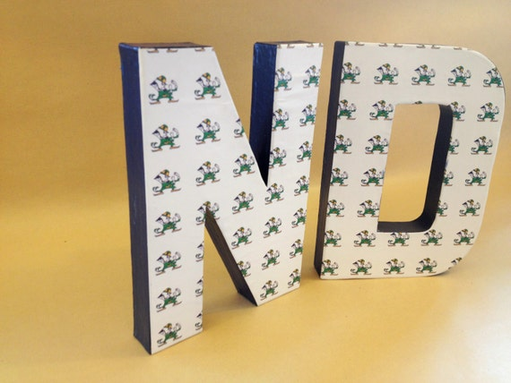 University of notre dame fighting irish nd home decor ncaa for Notre dame home decor