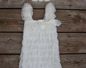 Baptism outfit. Christening dress, Baby girl baptism dress. Lace baptism dress. Baptism dress, Ivory lace dress. Lace Christening outfit