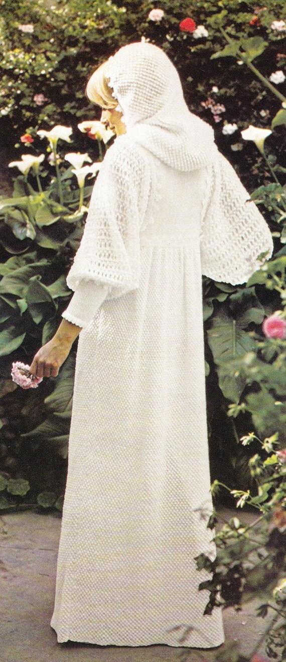 PDF Vintage wedding dress knitting pattern knitted wedding