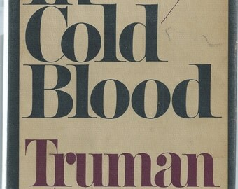 Signed by Author, Truman Capote's IN COLD BLOOD First Edition, First Printing