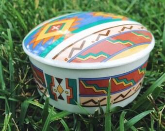 Vintage Southwestern Trinket Box
