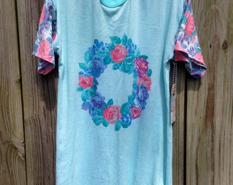 1990's Vintage Flower Crown Shirt