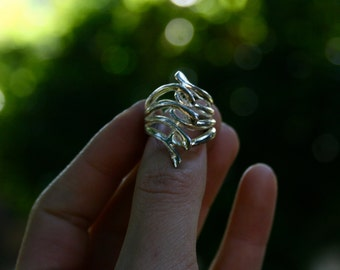 Sterling Silver Ring, Size 6.5