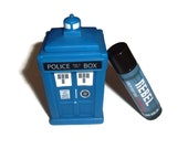 "The Twelfth Doctor ""Rebel"" Doctor Who Inspired Lip Balm - Rum & Coke Flavored Geek Stix"
