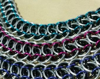 Garter Belt Chainmaille Bracelet