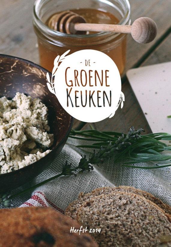 Groene Keuken Recepten : De Groene Keuken Magazine 2 Herfst van DeGroeneKeuken op Etsy