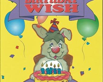 Personalized Children's Book:  My Birthday Wish