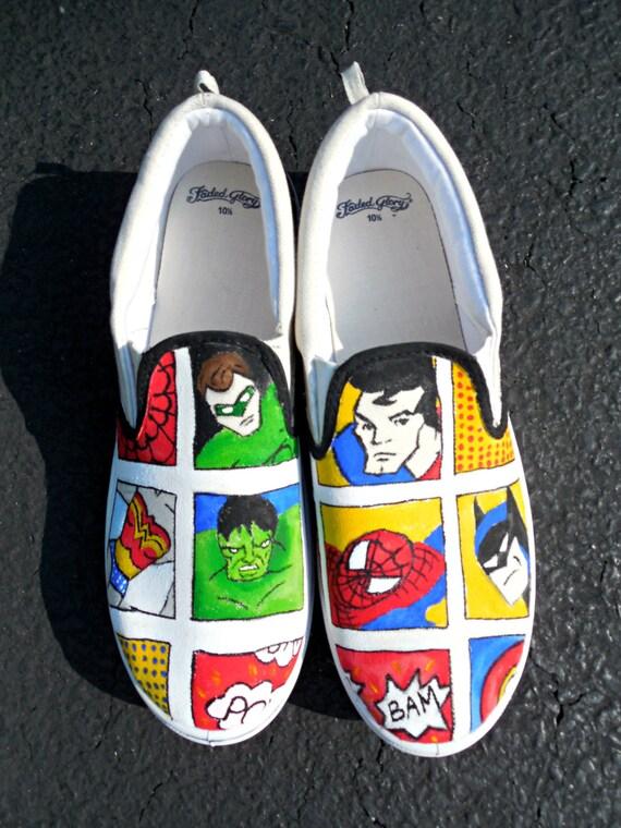comic strip shoes eBay