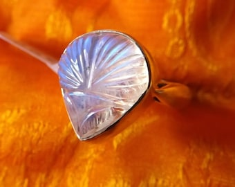 925 silver ring Moonstone