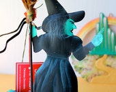 Vintage Wizard Of Oz - Wicked Witch - 1995 Silverstri Ornament