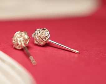 Wire Wrapped Ball Stud Earrings-unique nest round post jewelry earrings