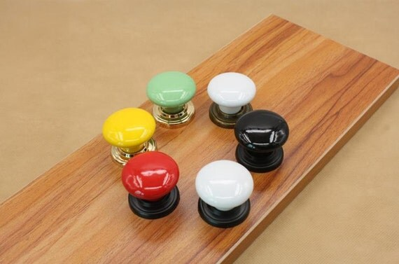 Colorful Knobs Dresser Knobs Handles Drawer Pull Handles