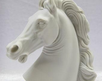 Horse Head Statue