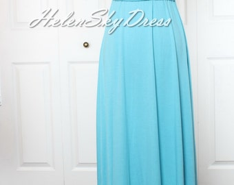 Blue Bridesmaid Dress Infinity Dress long Wrap Convertible Dress Blue Bridesmaid Dress